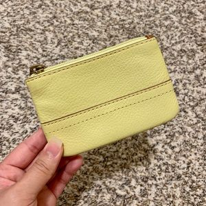 Fossil Zip Coin Purse w/ ID Slot
